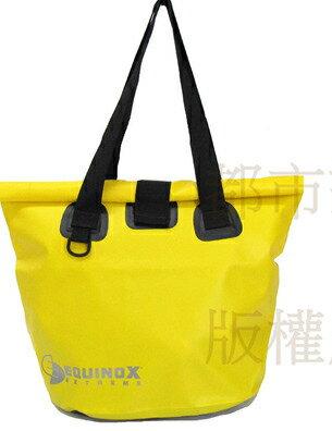 【露營趣】EQUINOX 防水 托特包 (黃色) 防水包 袋 媽媽袋 肩背袋 手提袋 購物袋 休閒包 海灘包 111127