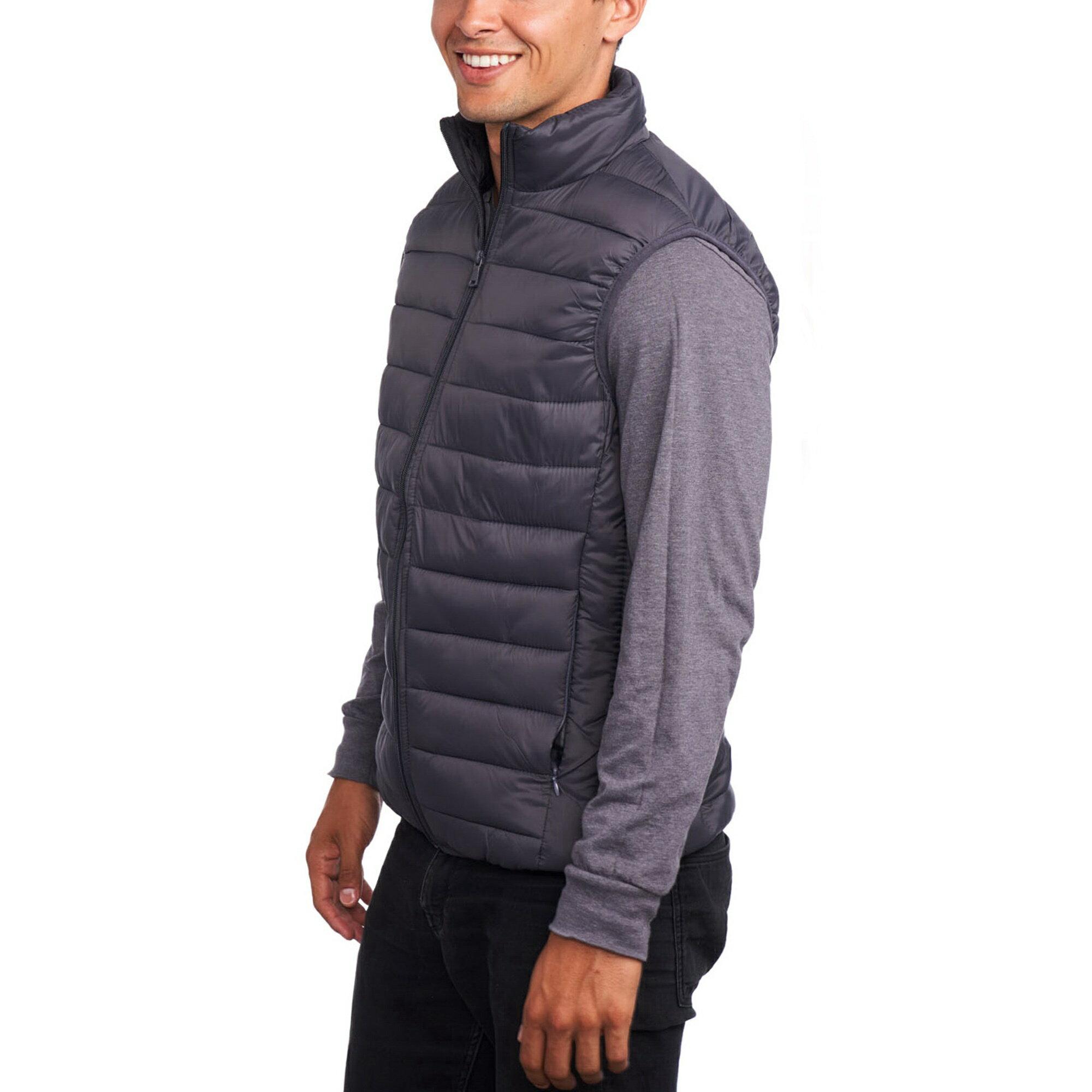 ab80839f9eb Alpine Swiss Mens Down Alternative Vest Jacket Lightweight Packable Puffer  Vest 3
