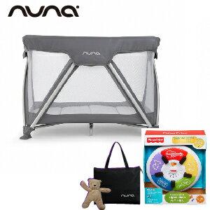 【贈費雪小鋼琴+收納袋+玩偶(隨機)】荷蘭【Nuna】Sena 遊戲床(灰) 0