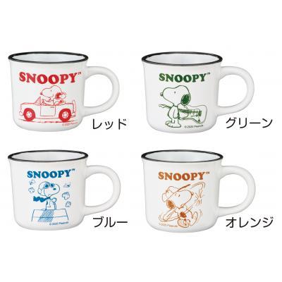 陶瓷馬克杯 200ml 4款 H4 史努比snoopy 史奴比 馬克杯 水杯 杯子 單耳杯 杯 4527231056867 真愛日本