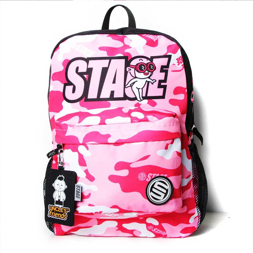 STAGE BAG × UNCLES FRIENDS PISCES BACKPACK 粉紅色 雙魚座 2