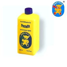 【淘氣寶寶】德國 Pustefix 魔力泡泡補充液(500ml)【保證原廠公司貨】【不逆流吹嘴設計不誤食】