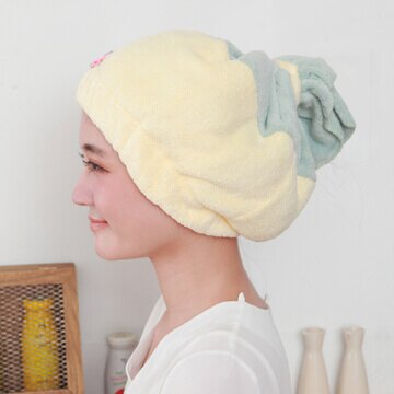 珊瑚絨吸水包頭巾 / 兩色可選 0