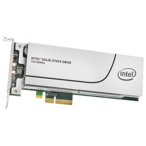 Intel SSD 750 Series 1.2TB AIC 1.20TB PCIe Gen3 x4 PCI-Express 3.0 x4 MLC HHHL (CEM2.0) Internal Solid State Drive SSDPEDMW012T4X1