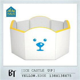 【送市價3960大小三角專用配件組】韓國【CreamHaus】冰雪高牆城堡-2色 3