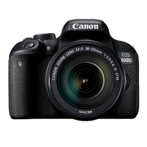 Canon EOS 800D KIT (EF-S 18-135 IS STM) 彩虹公司貨 可分期含稅免運