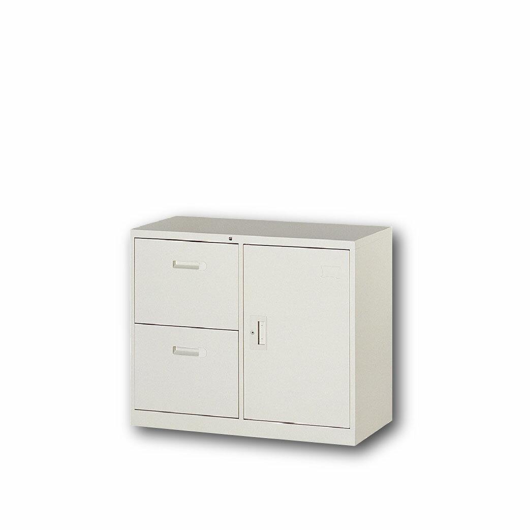 【哇哇蛙】理想櫃/複合二抽屜一門式 UC-3B 辦公 學校 收納 文件報表 置物櫃 分類櫃 隔間櫃 鐵櫃 資料櫃