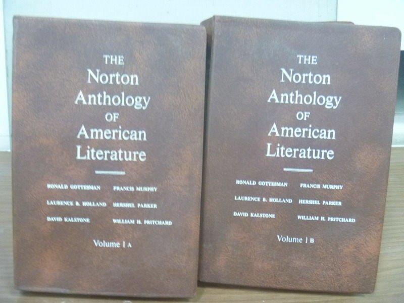 【書寶二手書T4/原文小說_JQB】The Norton Anthology..Literature_1A+1B合售