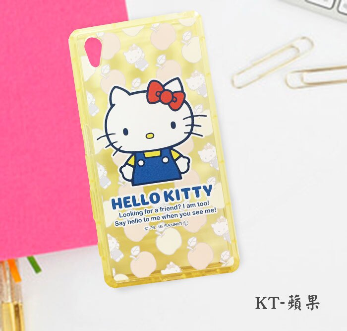 ~Hello Kitty~Sony Z5 手機殼 透明 保護殼 軟殼 Kitty迷必敗