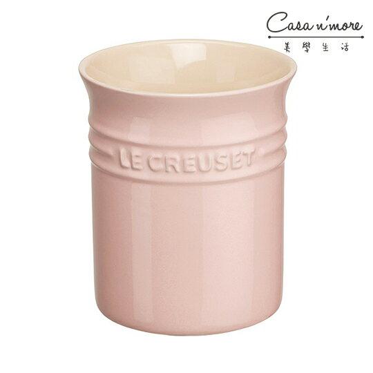 Le Creuset 陶瓷鍋鏟置物桶 鏟座 置物罐 器皿座 鏟桶 筷桶 雪紡粉