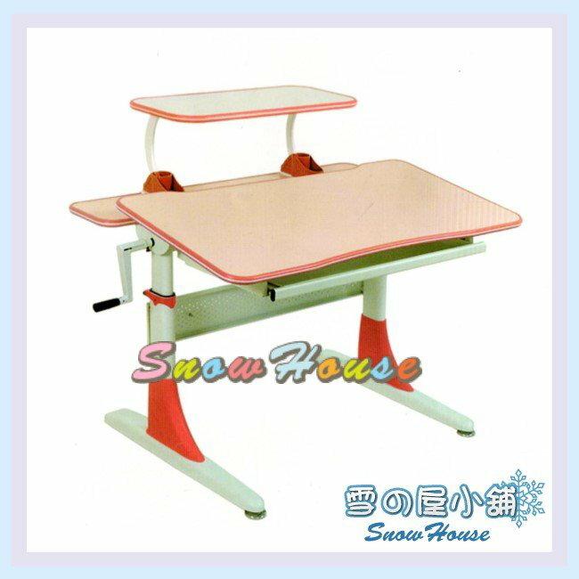 ╭☆雪之屋居家生活館☆╯R120-03 CT-808S-P兒童桌(粉紅)(DIY自組)/書桌/辦公桌/電腦桌/學生桌