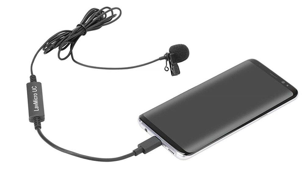 ◎相機專家◎ Saramonic 領夾式麥克風 LavMicro UC 全向電容式 收音 USB Type-C 勝興公司貨