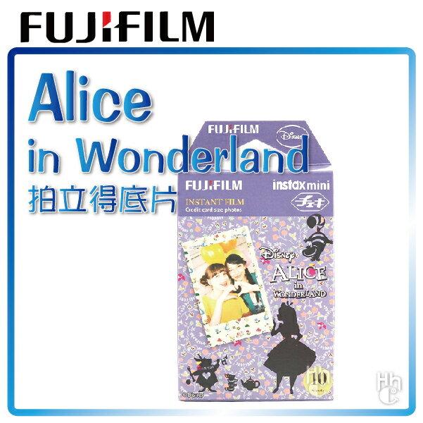 ~和信嘉~拍立得 迪士尼 愛麗絲夢遊仙境 底片 Disney Alice 富士 FUJIF