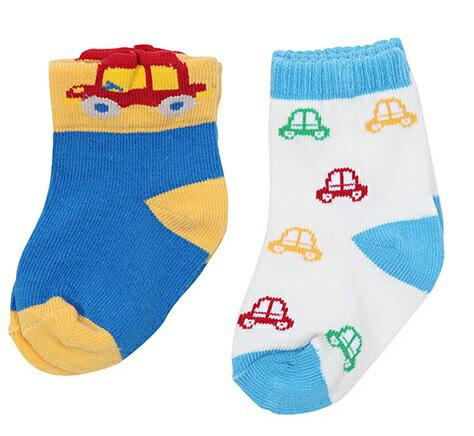 台灣【Baby City】 汽車短襪2入組 1