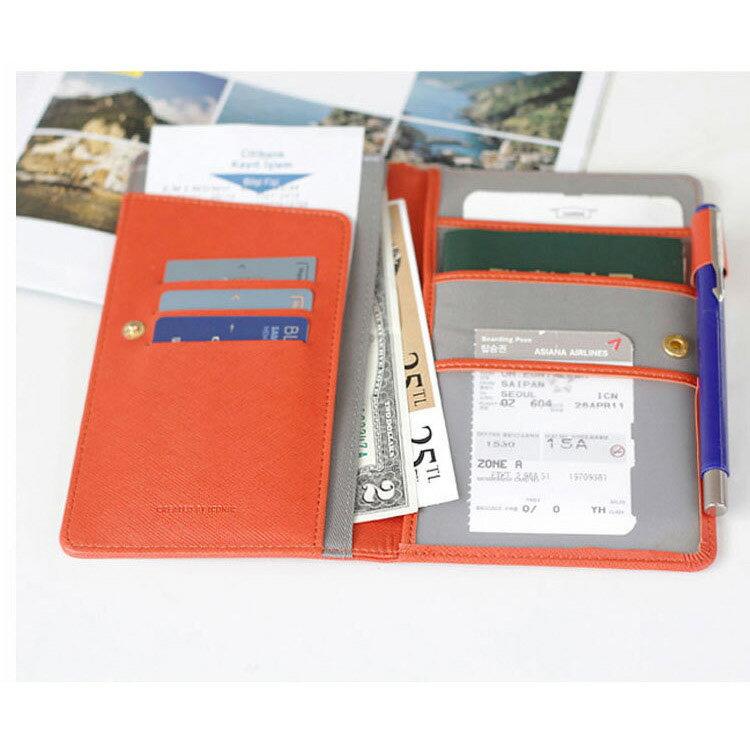 長夾 多功能護照夾證件夾旅行包【MJN101】 BOBI  12/01 2