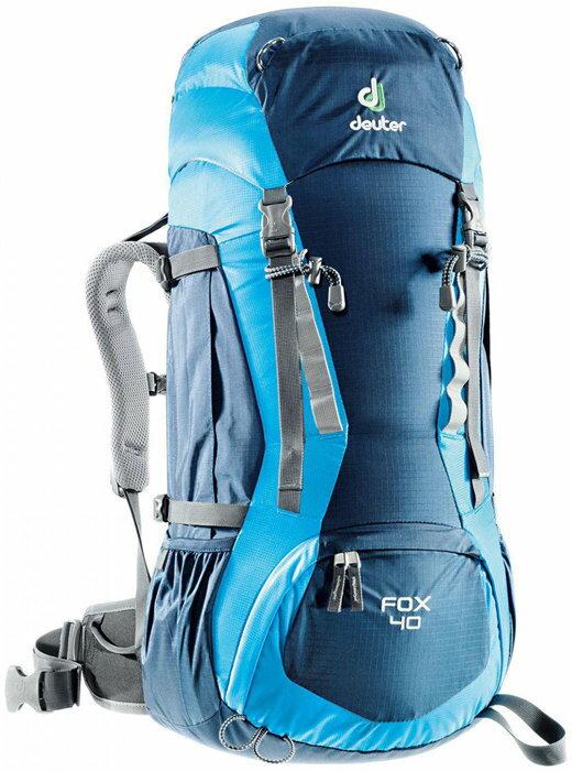 【露營趣】中和 附手電筒 德國 deuter 36083 Fox 40L+4L 登山背包 休閒背包 旅遊背包