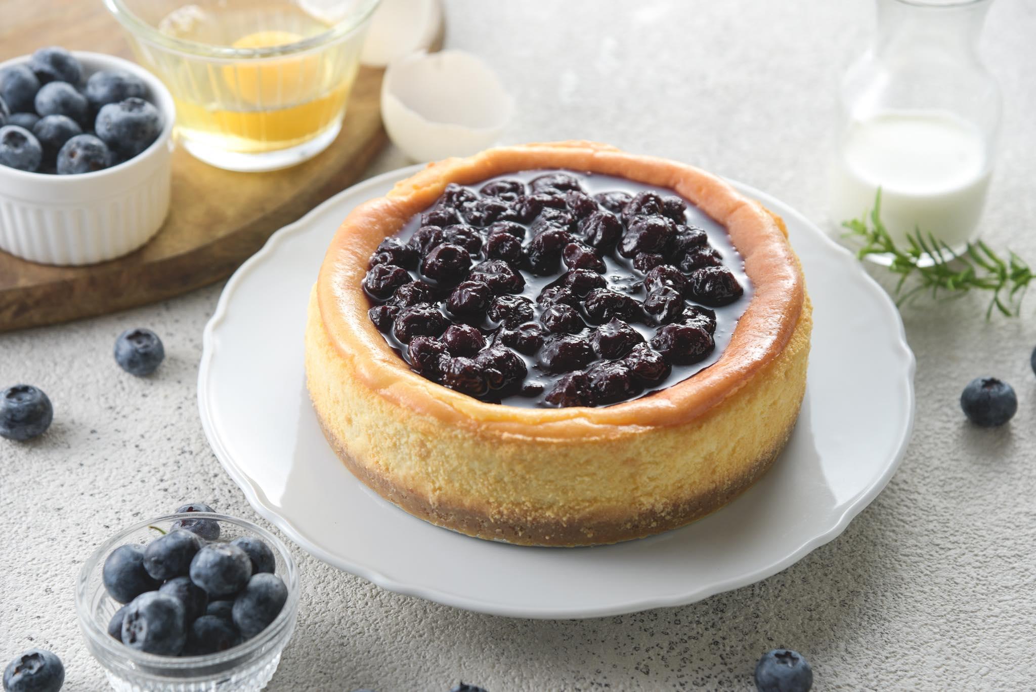 Uniform有妳甜品 藍莓黃金重乳酪蛋糕 (6吋)