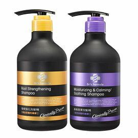 「618購物節」【購購購】台塑生醫 髮根強化洗髮精580ml + 晶極潤澤洗髮精580ml