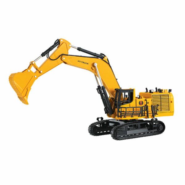 【888便利購】HY1:50高仿真合金大型履帶式挖土機怪手(LL0683)(授權)