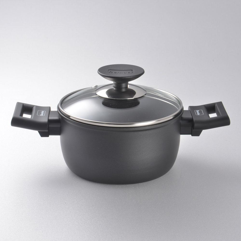 Berndes 寶迪鍋 Alu 特別版 雙耳湯鍋 含蓋 不沾鍋 深鍋 16cm 1