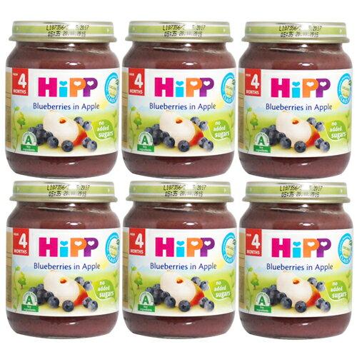 衛立兒生活館:HiPP喜寶有機小蘋果藍莓泥(6罐)#1687X6