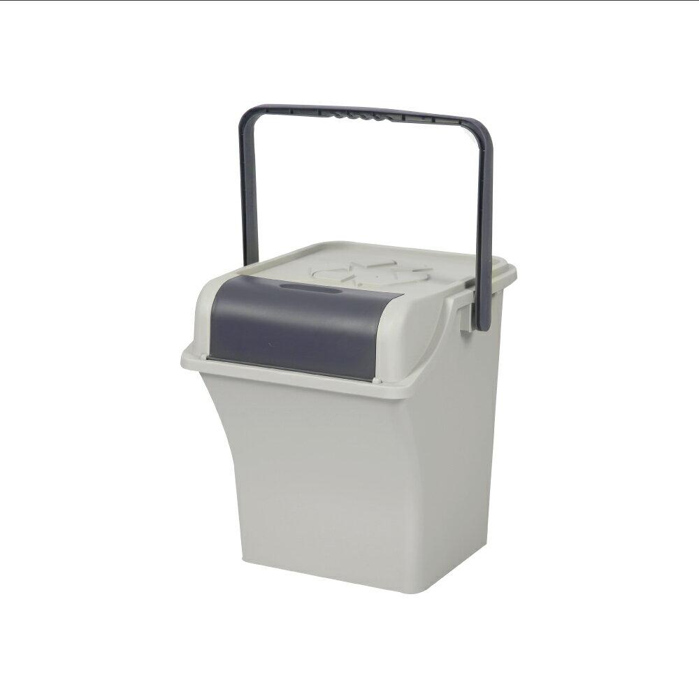 分類桶/垃圾桶/收納桶 Nplastic Ordinary 輕鬆可提式回收桶45L 韓國製 完美主義 【G0069】
