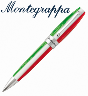 義大利Montegrappa萬特佳TRICOLOR財富三色筆系列-原子筆ISFORBII支