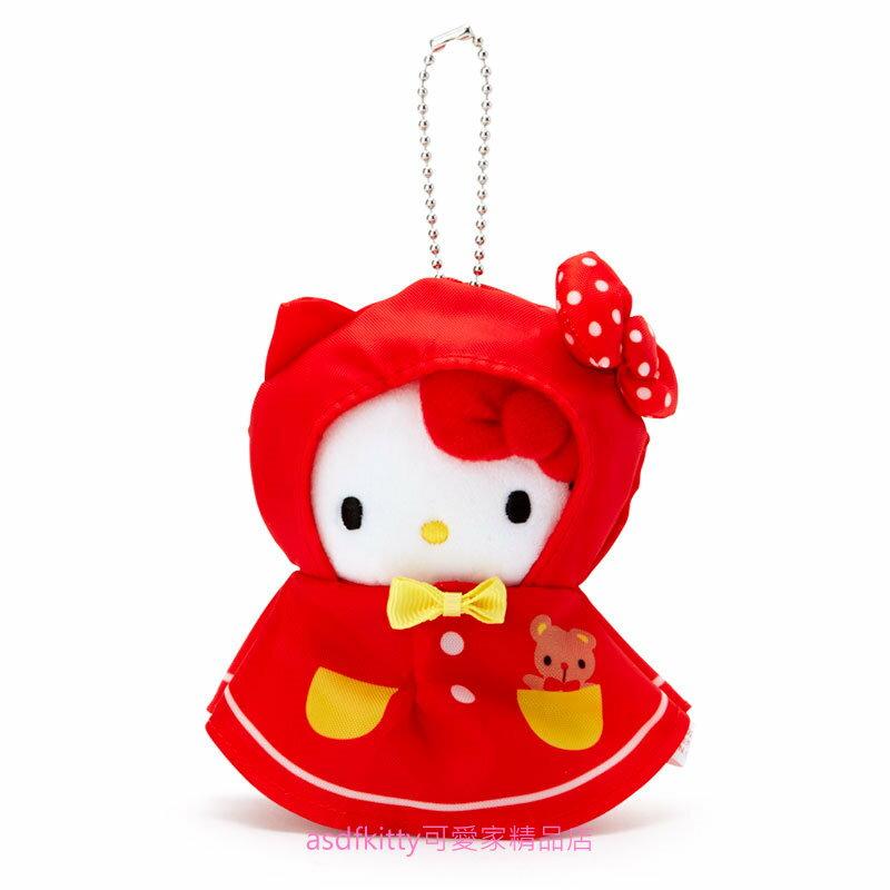 asdfkitty*KITTY晴天娃娃造型玩偶吊飾/掛飾/鑰匙圈-很大很顯眼-掛包包上或掛車上都好用-日本正版商品