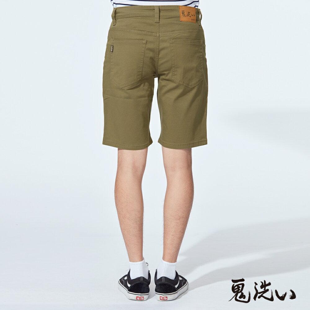 【6折限定】鬼洗彈力休閒短褲(墨綠)  - BLUE WAY  ONIARAI 鬼洗 2