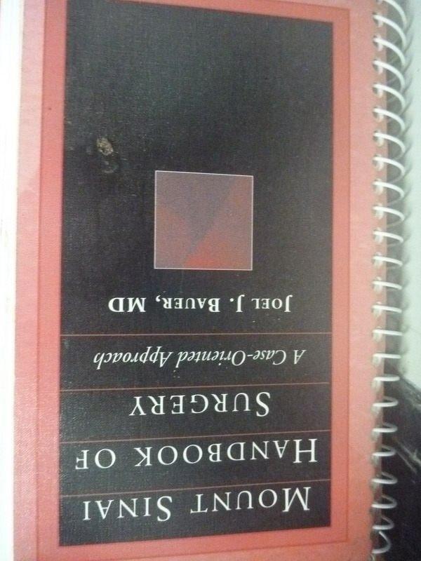 【書寶二手書T4/大學理工醫_HCB】Mount Sinai Handbook of