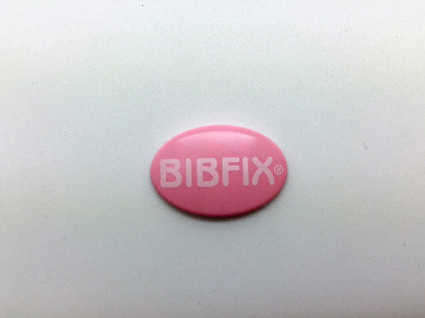 Bibfix號碼布塑膠扣 (粉紅) 附贈收納盒