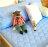 保潔墊平鋪式 3層抗污、加厚鋪棉、台灣製造 #寢國寢城 #馬卡龍 #素色 2