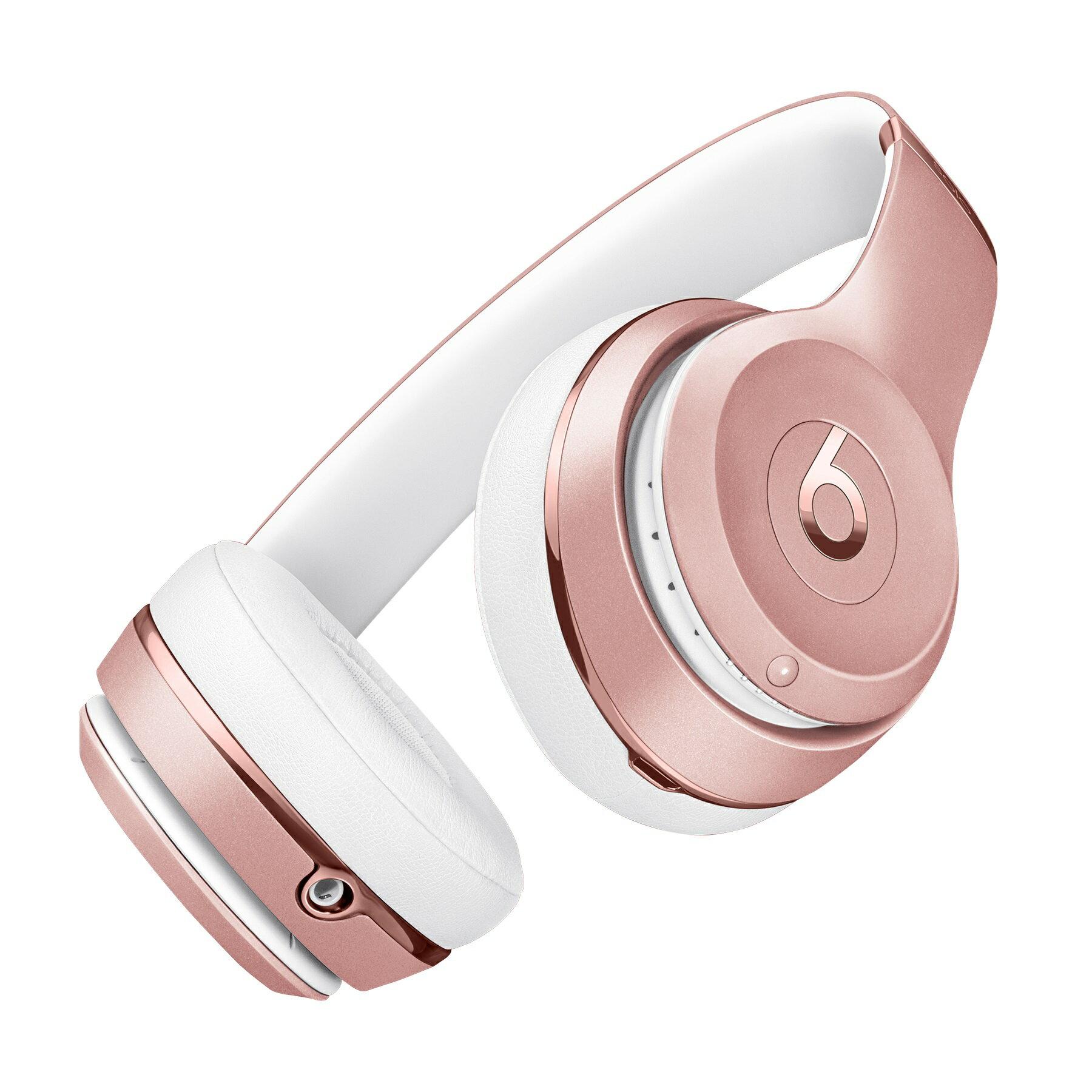 Beats Solo3 Wireless On-Ear Headphones - Rose Gold 1