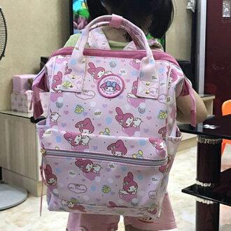 後背包 可愛卡通圖樣PU防水背包 兒童書包 hello kitty【包包阿者西】