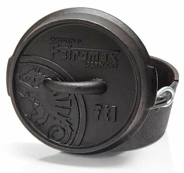[ PETROMAX ] 鑄鐵平底荷蘭鍋 20cm / 公司貨 FT1-T