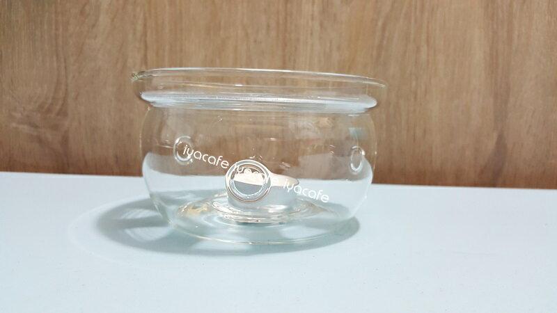 《愛鴨咖啡》耐熱玻璃 花茶壺 保溫爐座 贈蠟燭1顆