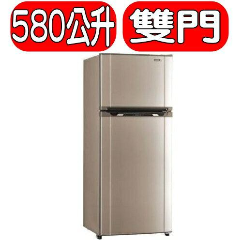 ~特促可 ~SAMPO聲寶~SR~M58G^(G3^)~~580公升~雙門冰箱