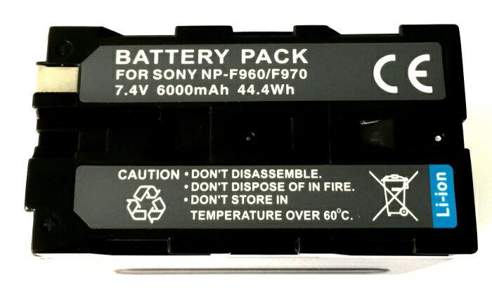 【盈佳資訊】SONY NP-F960 / F970 相機電池 高容量防爆鋰電池 原廠品質有保障 F950 F930 DCR-TRV900 TRV820 TRV310 TRV130 TRV110 HVL-20DW2 6000mAh