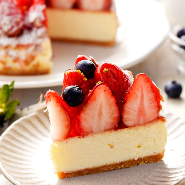6吋草莓乳酪派▲免運▲~嚴選紐西蘭頂級乳酪▲產地直送新鮮大湖草莓▲多層次口感▲天然醇厚 3