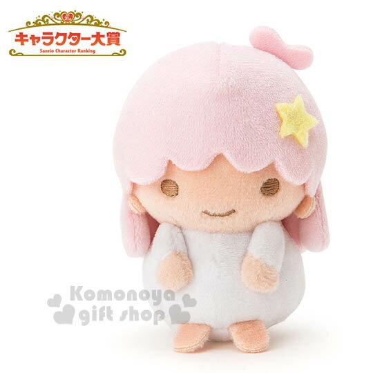 〔小禮堂〕雙子星 LALA 造型絨毛玩偶娃娃《迷你.粉》2016 Sanrio人物大賞系列