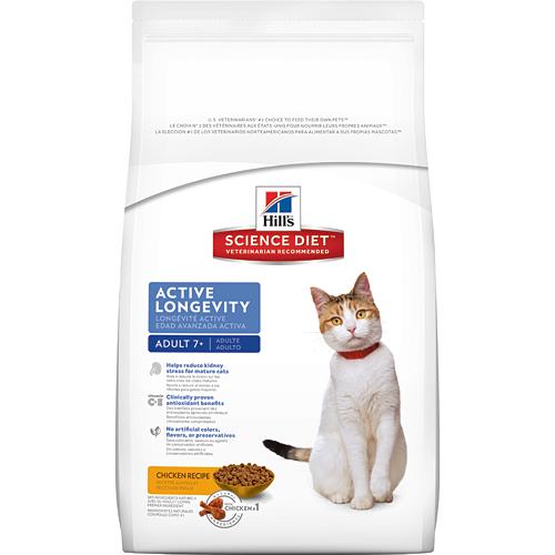 Hill's 希爾思 7歲以上成貓 活力長壽 雞肉配方 3.5KG/3.5公斤