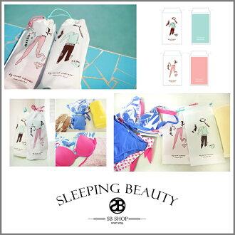SB SHOP【sh45】多功能收納袋 / 鞋子小物旅行束口袋 可裝比基尼 貼身衣物 超實用