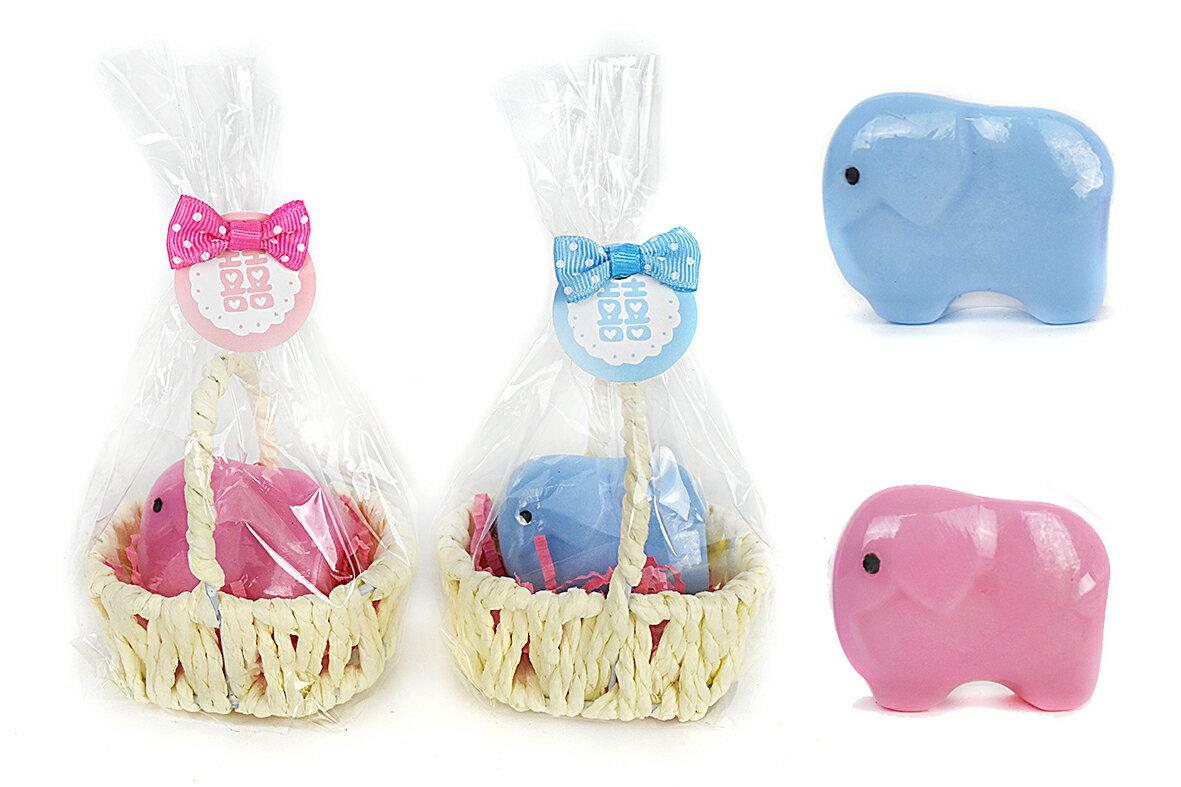 X射線【Y040021】大象手工皂,喜糖袋/糖果袋/囍糖/手工皂/小袋子/婚宴喜慶