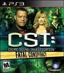 【Playwoods】[PS3遊戲] CSI犯罪現場:致命殺機 Fatal Conspiracy (英文亞版-輔導級-冒險解謎-支援MOVE)