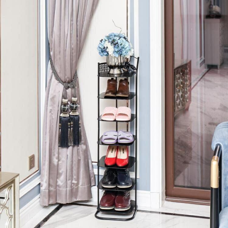 鞋架經濟型簡易家用鞋架子省空間門口簡約現 免運