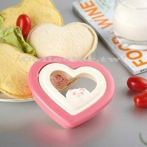【N13080603】愛心口袋三明治模具製作器 Diy三明治模具 口袋麵包製作器