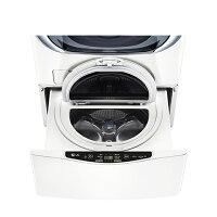 LG電子到【LG樂金】3.5公斤底座型 MiniWash 迷你洗衣機。炫麗白/WT-D350W