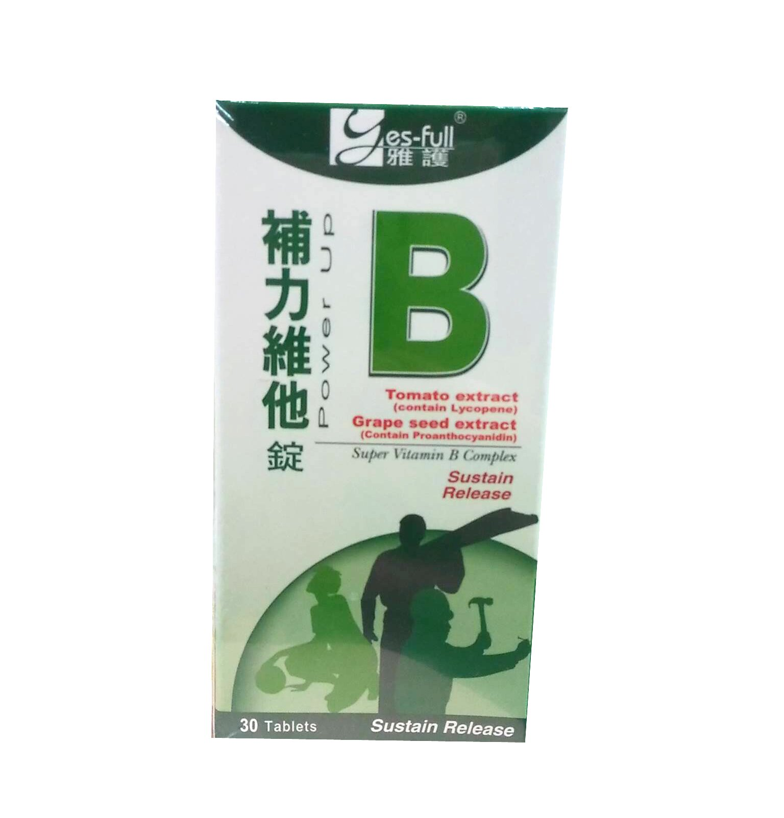 <br/><br/>  雅護 補力維他-B持續錠 30錠【德芳保健藥妝】B群<br/><br/>