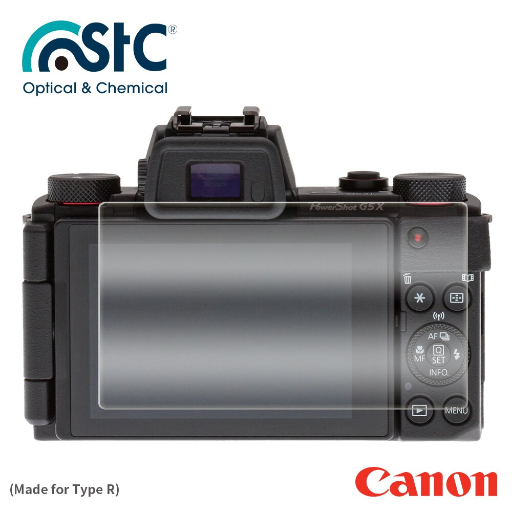 【STC】For Canon G5X - 9H鋼化玻璃保護貼