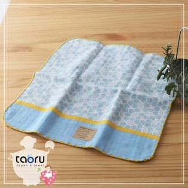 taoru:日本毛巾:町娘物語_勿忘草25*25cm(手巾花屋篇--taoru日本毛巾)